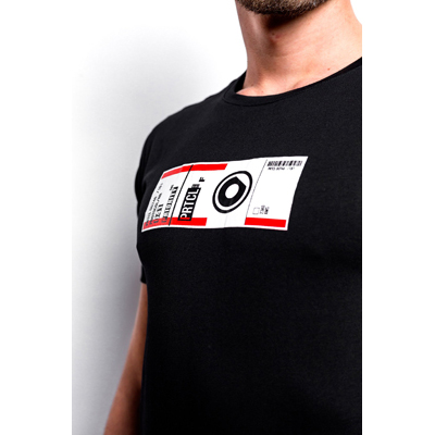 PRTCL-CPSL T-shirt - Luggage Label