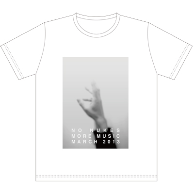 Ryuichi Sakamoto「NO NUKES MORE MUSIC MARCH 2013」Tシャツ