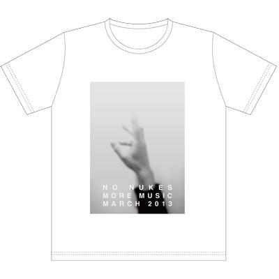 Ryuichi Sakamoto「NO NUKES MORE MUSIC MARCH 2013」Tシャツ