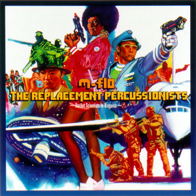 THE REPLACEMENT PECUSSIONISTS~Rocket Scientists In Disguise~