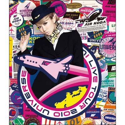 KODA KUMI LIVE TOUR 2010~UNIVERSE~(Blu-ray)