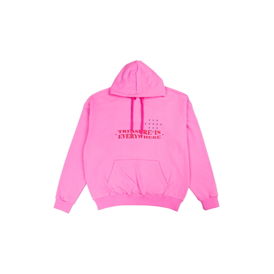 [TREASURE MAP] TREASURE HOODIE PINK