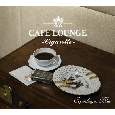 cafe lounge Cigarette Copenhagen Blue