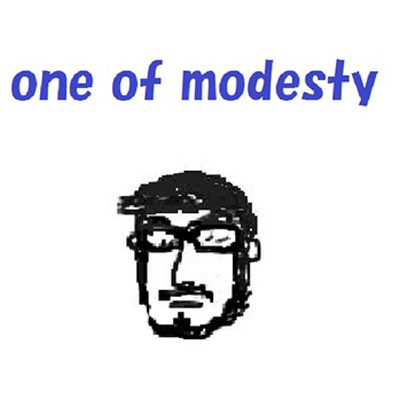 one of modesty
