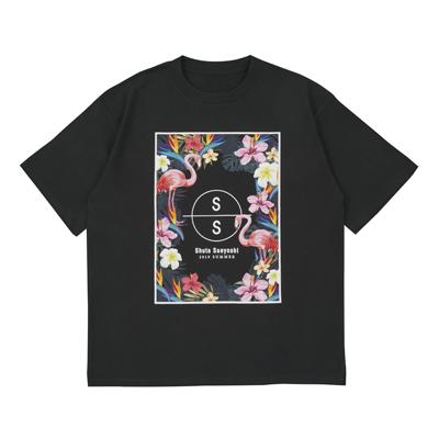 Tシャツ_ブラック_L