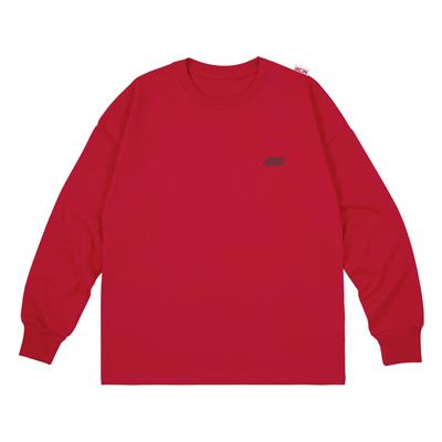 ロングスリーブTシャツ(RED/L)