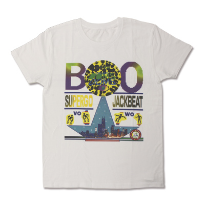 SUPERGO JACKBEAT Tシャツ(白/L)