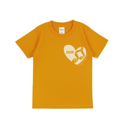 キッズTシャツ ゴールドイエロー(130cm)