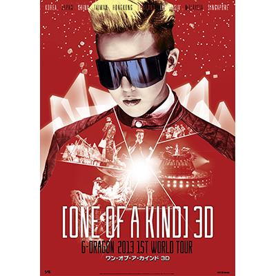 映画 ONE OF A KIND 3D ~G-DRAGON 2013 1ST WORLD TOUR~ DVD
