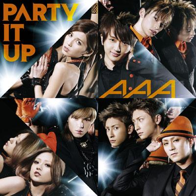 PARTY IT UP【通常盤】(CDシングル+DVD)