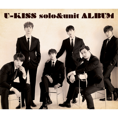 U-KISS solo&unit ALBUM(CD+2枚組DVD+スマプラ)