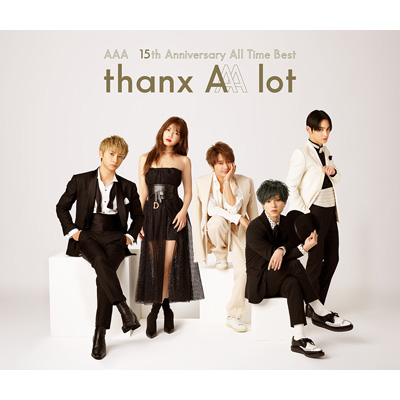 AAA 15th Anniversary All Time Best -thanx AAA lot-(4枚組CD)