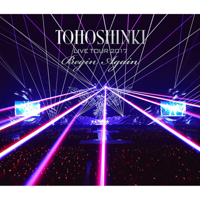 東方神起 LIVE TOUR 2017 ~Begin Again~(Blu-ray)