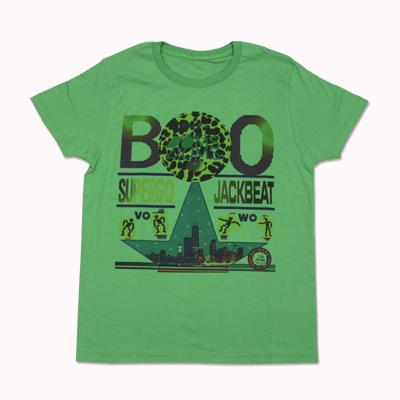 SUPERGO JACKBEAT Tシャツ(グリーン)