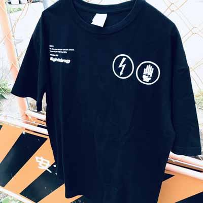 ビックシルエットTシャツ(Black)