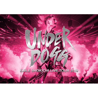EXILE SHOKICHI LIVE TOUR 2019  UNDERDOGG【通常盤】(2枚組Blu-ray)