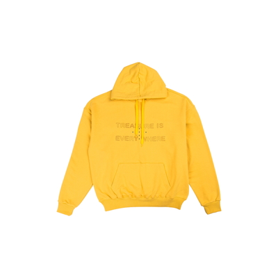 [TREASURE MAP] TREASURE HOODIE YELLOW