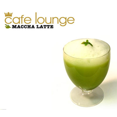 cafe lounge MACCHA LATTE