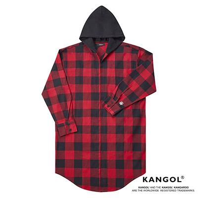 ayumi hamasaki×KANGOL ロングジャケットシャツ