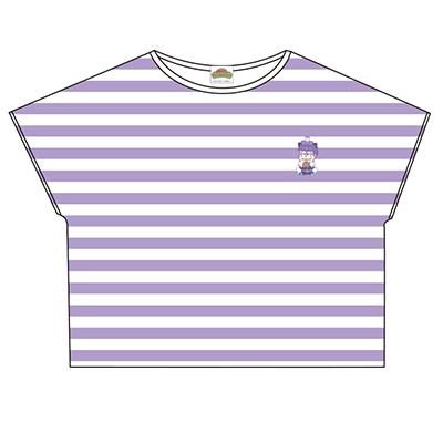 おそ松さん×Sanrio characters ボーダーTシャツ(一松)