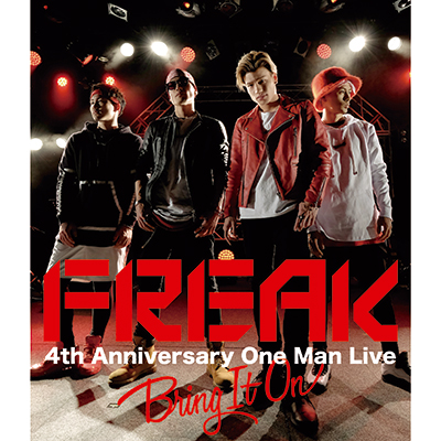 FREAK 4th Anniversary One Man Live BRING IT ON(Blu-ray)【スマプラ対応】