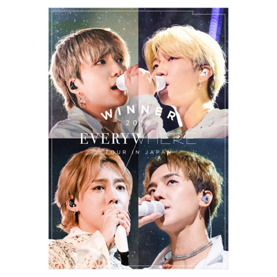 WINNER 2018 EVERYWHERE TOUR IN JAPAN (2DVD+スマプラ)