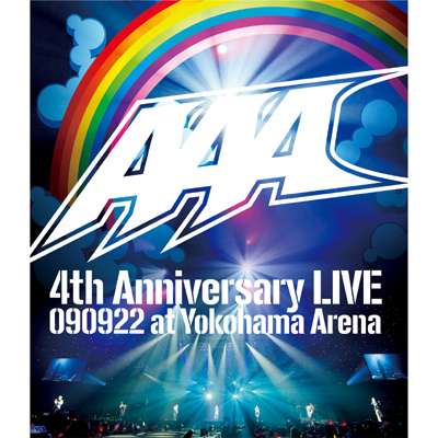 【Blu-ray】AAA 4th Anniversary LIVE 090922 at Yokohama Arena