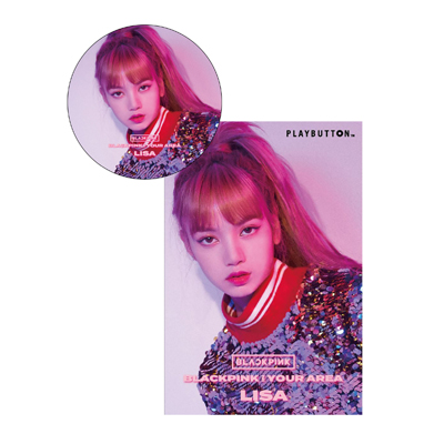 BLACKPINK IN YOUR AREA(PLAYBUTTON)【LISA Ver.】