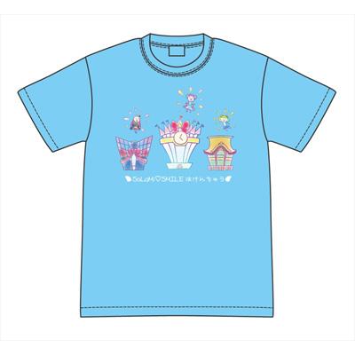 アイドルタイムプリパラ【パラネタ】そらみスマイルはけんちゅうTシャツ L