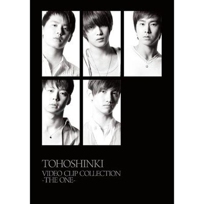 TOHOSHINKI VIDEO CLIP COLLECTION  - THE ONE -