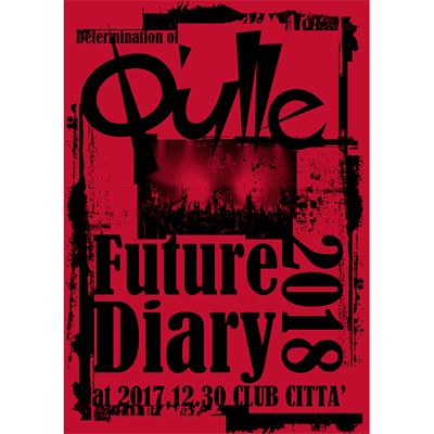 Determination of Q'ulle「Future Diary 2018」 at 2017.12.30 CLUB CITTA'(DVD)