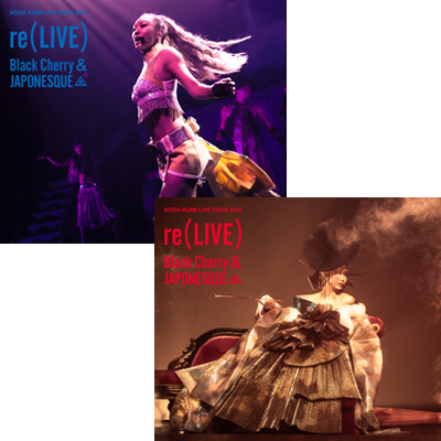KODA KUMI LIVE TOUR 2019 re(LIVE) -Black Cherry- & -JAPONESQUE-【倖田組/playroom限定商品】(CD4枚組)
