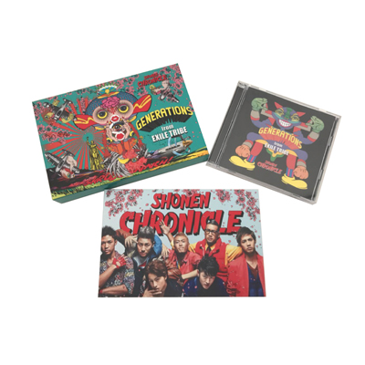 SHONEN CHRONICLE【初回生産限定盤】(CD+DVD)