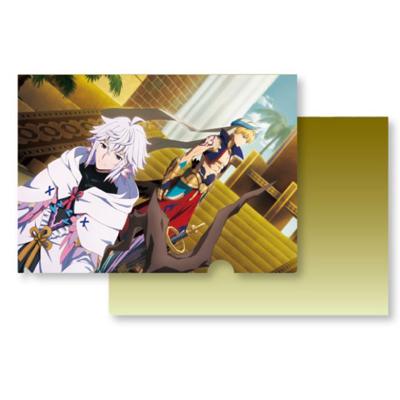 Fate/Grand Order-絶対魔獣戦線バビロニア- A4クリアファイル(ギルガメッシュ&マーリン)