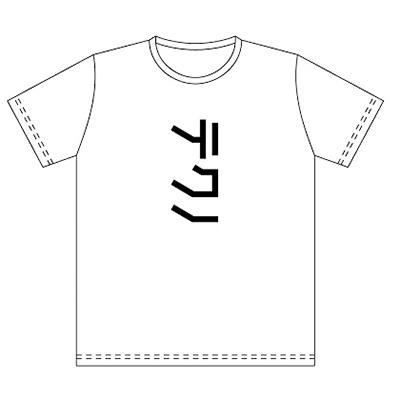 YMO「テクノ」Tシャツ白ボディ×黒プリント
