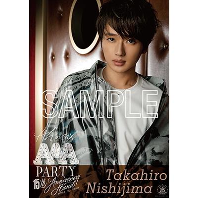 A2ポスター(2枚セット) -TAKAHIRO NISHIJIMA- [WINTER ver.]