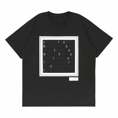 Tシャツ_ブラック(M)