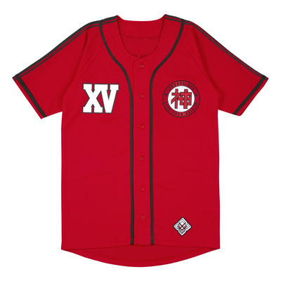 15th Anniversary ベースボールシャツ Red(L)