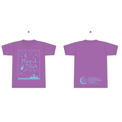 Tシャツ(ラベンダー) (M)