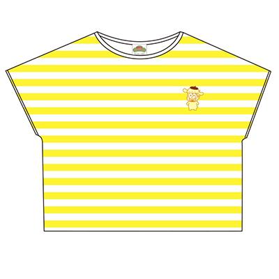 おそ松さん×Sanrio characters ボーダーTシャツ(十四松)