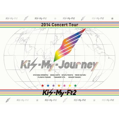 2014Concert Tour Kis-My-Journey【初回限定生産盤】(3枚組DVD)
