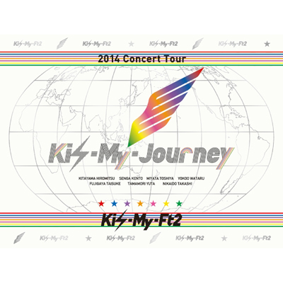 2014Concert Tour Kis-My-Journey【初回限定生産盤】(3枚組DVD)
