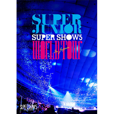 SUPER JUNIOR WORLD TOUR SUPER SHOW5 in JAPAN【通常盤】(DVD2枚組)