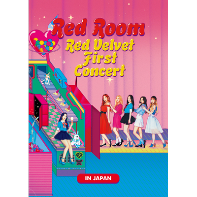 "Red Velvet 1st Concert ""Red Room"" in JAPAN 【2枚組DVD】"