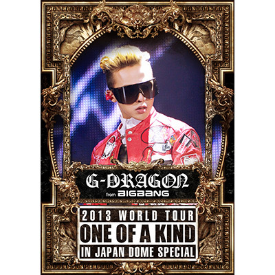 G-DRAGON 2013 WORLD TOUR ~ONE OF A KIND~ IN JAPAN DOME SPECIAL【通常盤】(2枚組DVD)