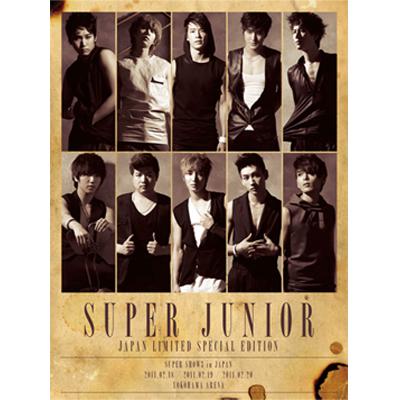 SUPER JUNIOR  JAPAN LIMITED SPECIAL EDITION   -SUPER SHOW3 開催記念盤-