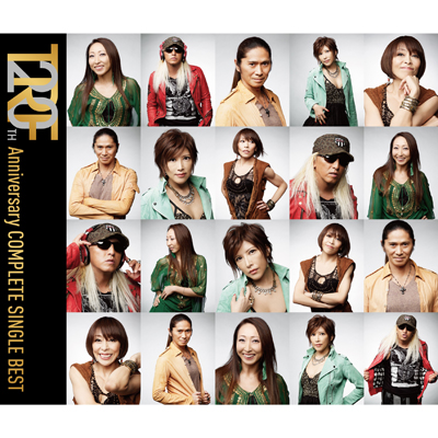TRF 20TH Anniversary COMPLETE SINGLE BEST【3枚組ALBUM+DVD】