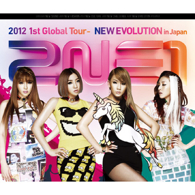 2NE1 2012 1st Global Tour - NEW EVOLUTION in Japan(Blu-ray)