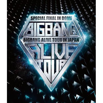 BIGBANG ALIVE TOUR 2012 IN JAPAN SPECIAL FINAL IN DOME -TOKYO DOME 2012.12.05-【初回限定生産盤】(2枚組Blu-ray+2枚組CD)