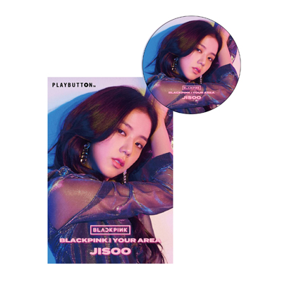 BLACKPINK IN YOUR AREA(PLAYBUTTON)【JISOO Ver.】